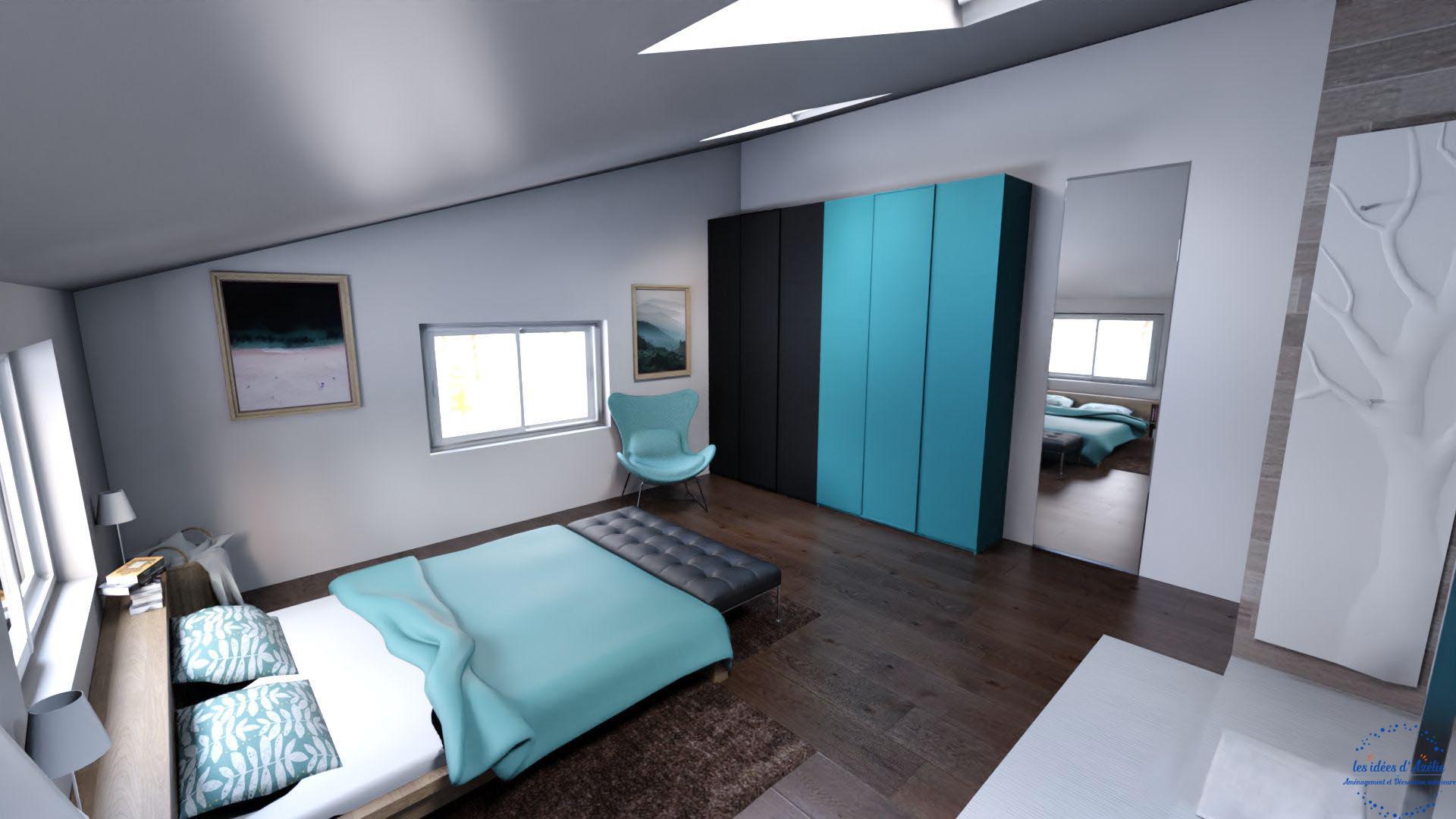 Chambre parentale - visuel 3D