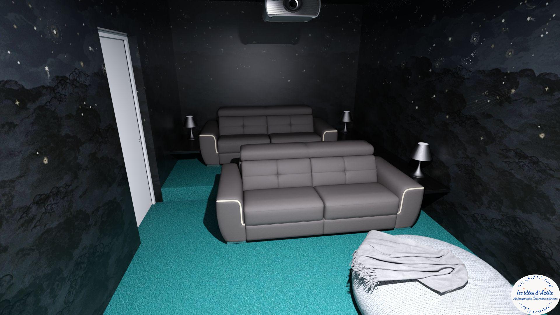Premier étage - Salle vidéo