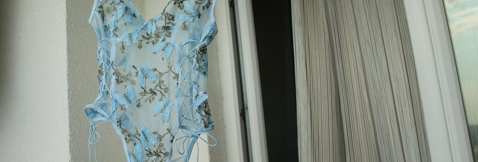 Mavi Kelebek Bodysuit