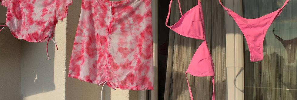 Tye Dye 4'lü Bikini Set