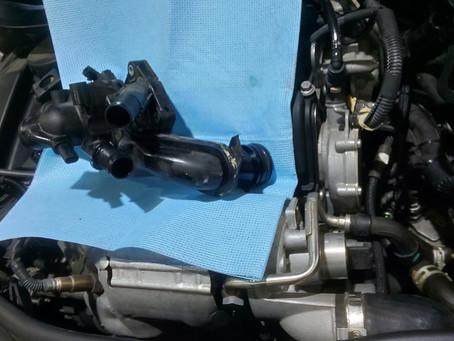 冷却水漏れ BMW MINI