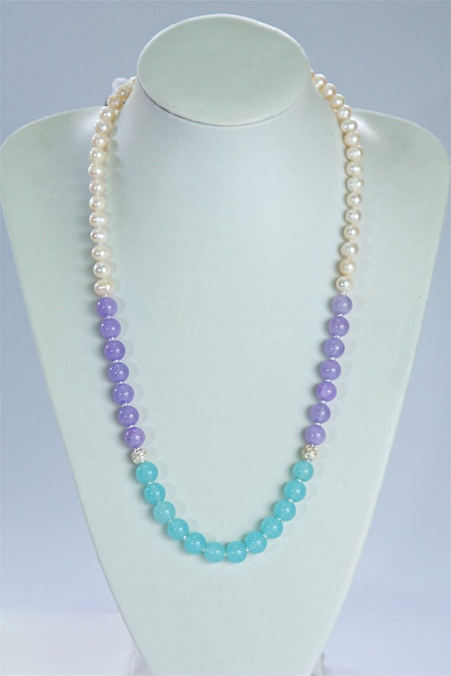 649 Pearls, dyed jade
