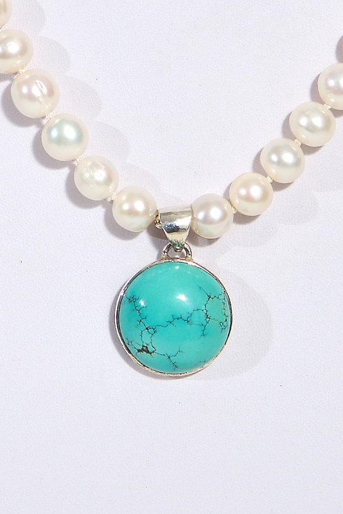 480 - Turquoise/silver
