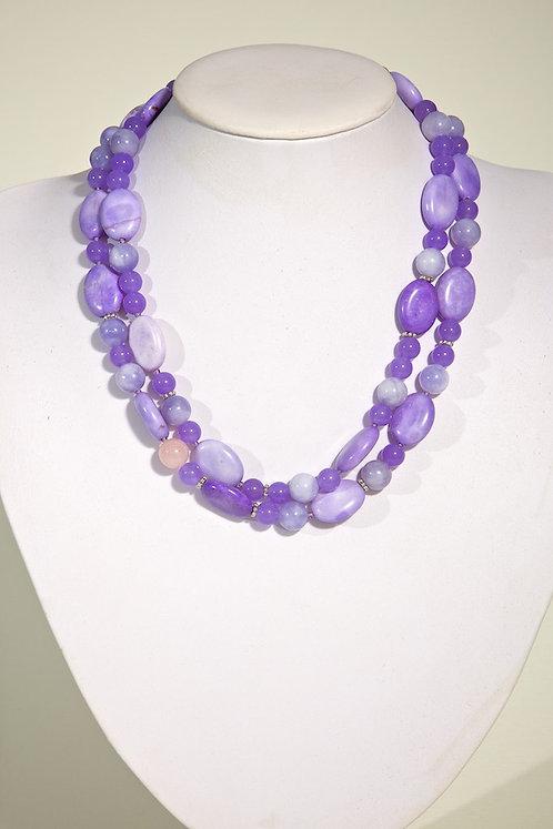 Purple howlite  344