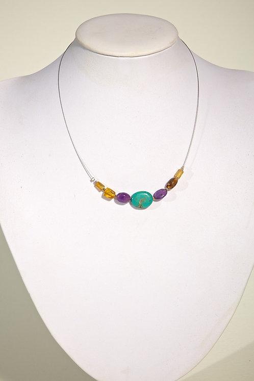 Amber,turquoise  561