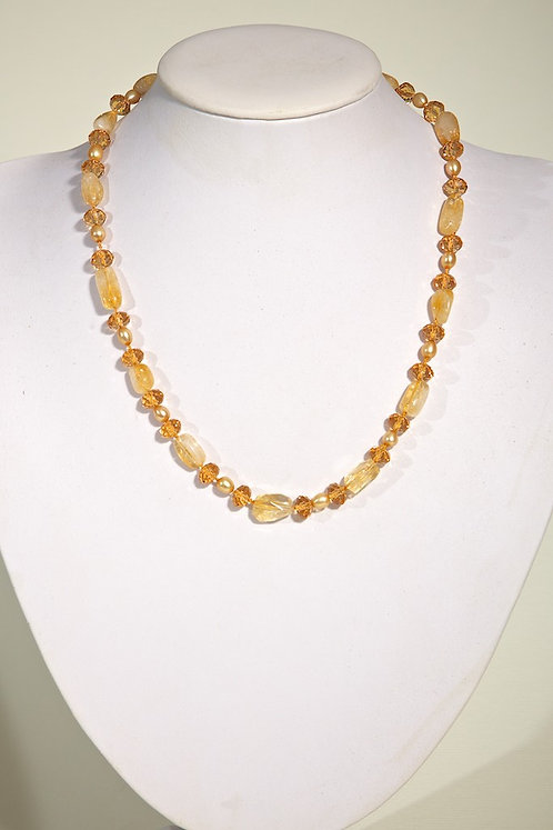 Citrene,pearls,crystals  424