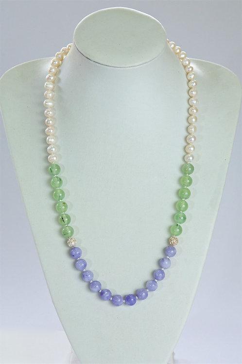 646 Pearls, prenhite, jade