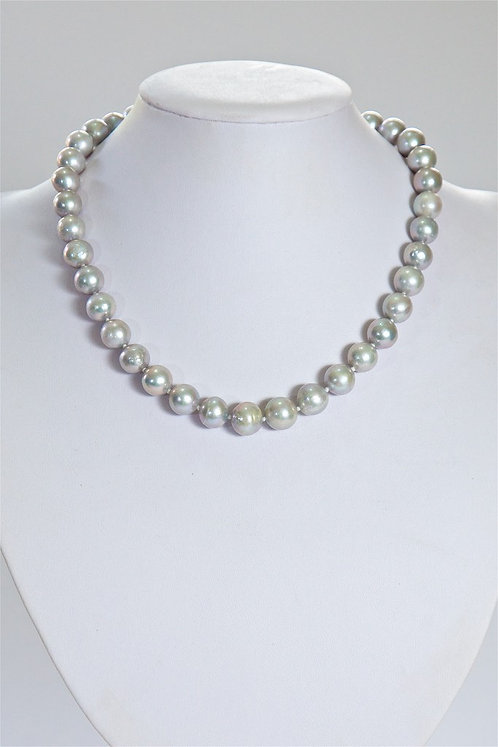 629 10mm grey pearls