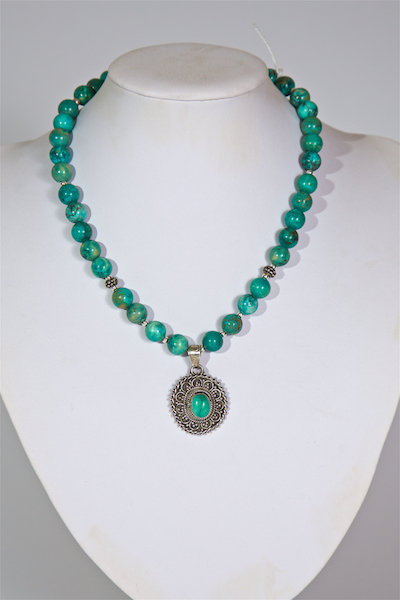 697 Turquoise with pendant