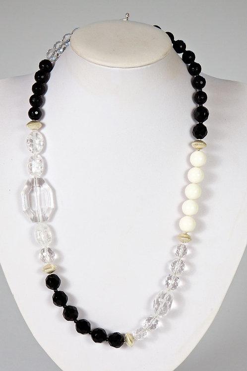 596 - Crystal,onyx,coral  596