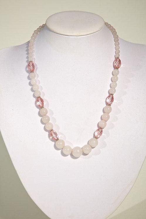 311  - Rose quartz,crystals
