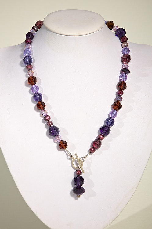373 - Amethyst, crystals