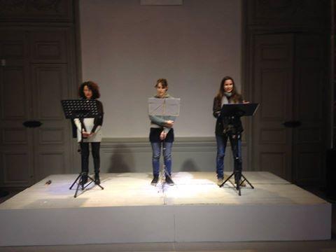 Lecture Penthy sur la bande Maison Jean Vilar Nov15