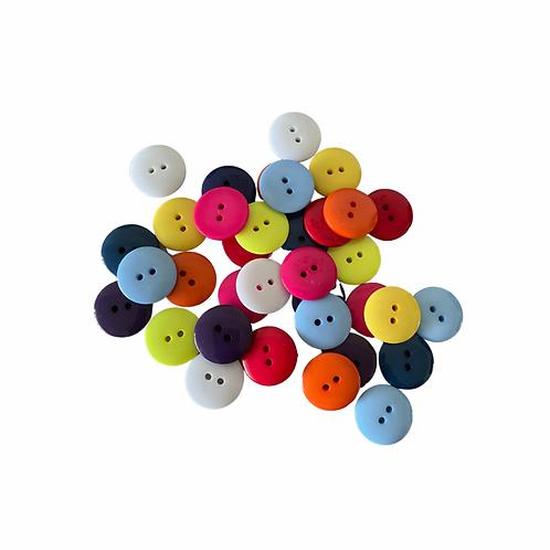 Set van 100 gestandaardiseerde knopen