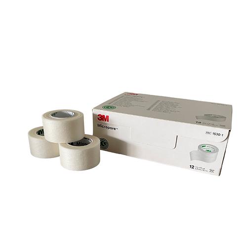 3M Micropore tape 2,5 cm 12stuks