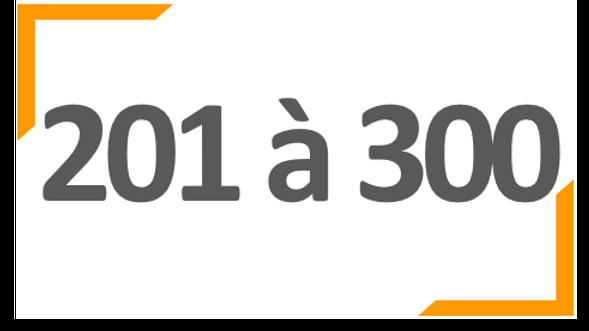 Programme annuel BONNE ROUTE 201 à 300 collaborateurs