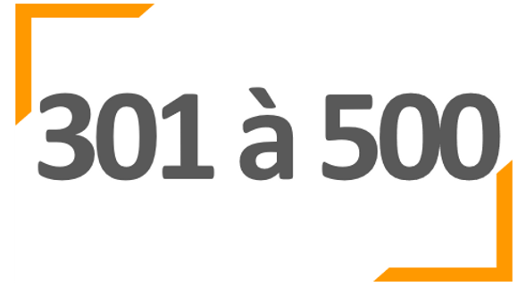Programme annuel BONNE ROUTE 301 à 500 collaborateurs