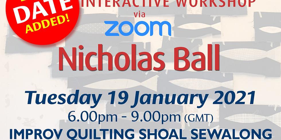 Tuesday 19 January 2021: Online Workshop (Shoal Sewalong)