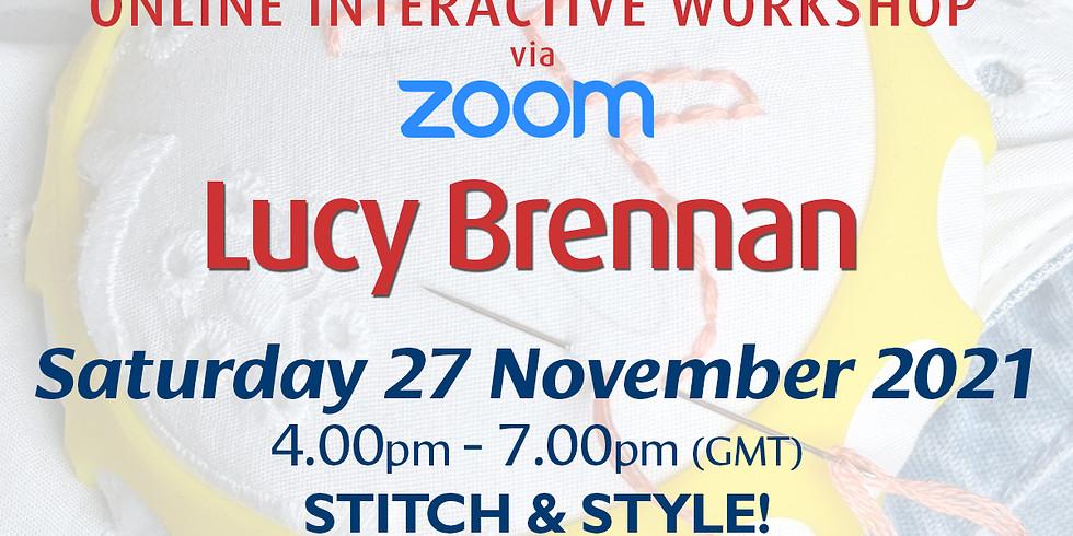 Saturday 27 November 2021: Online Workshop (Stitch & Style)