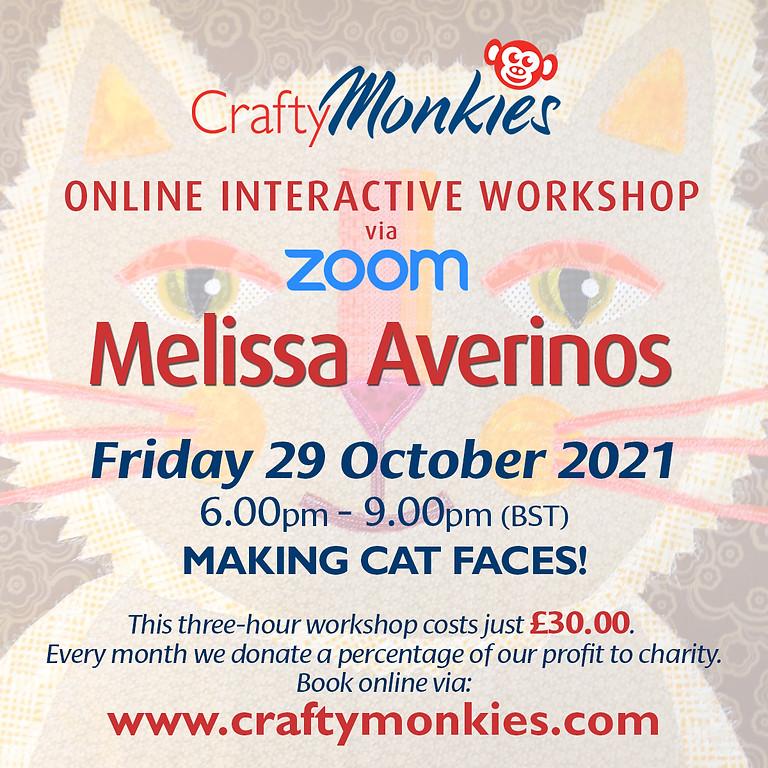 Friday 29 October 2021: Online Workshop (Making Cat Faces!)