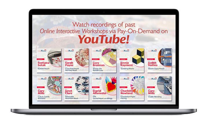 CraftyMonkies Pay-On-Demand Videos