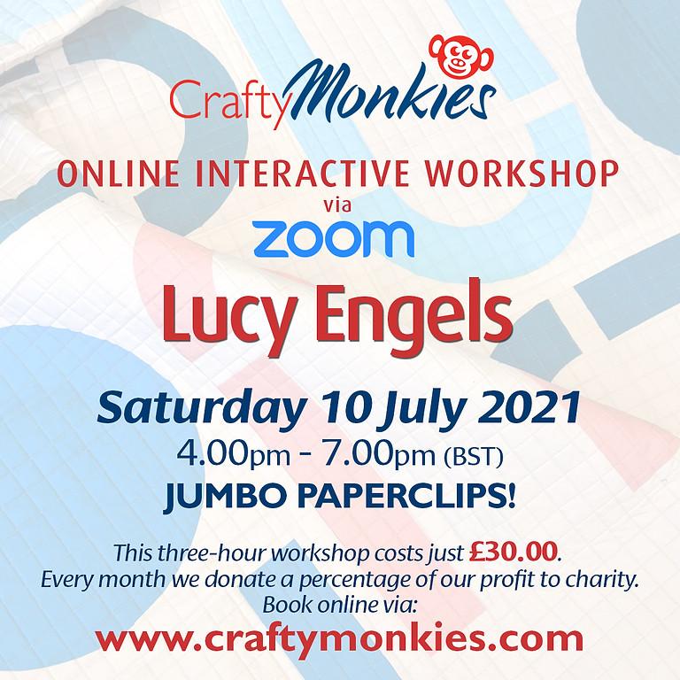 Saturday 10 July 2021: Online Workshop (Jumbo Paperclips!)