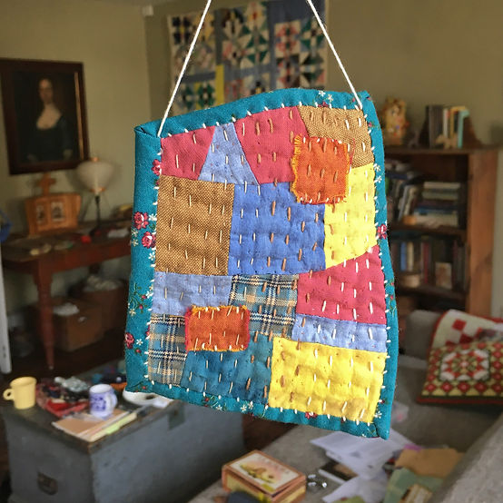 Create a wonderful Talisman Tiny Quilt on our first class with Zak Foster!