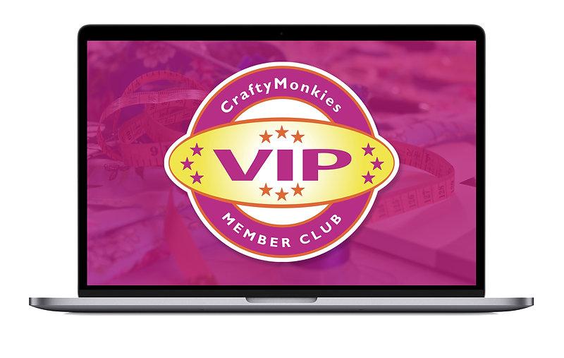CraftyMonkies VIP Member Club with Expert Craft Tutors!
