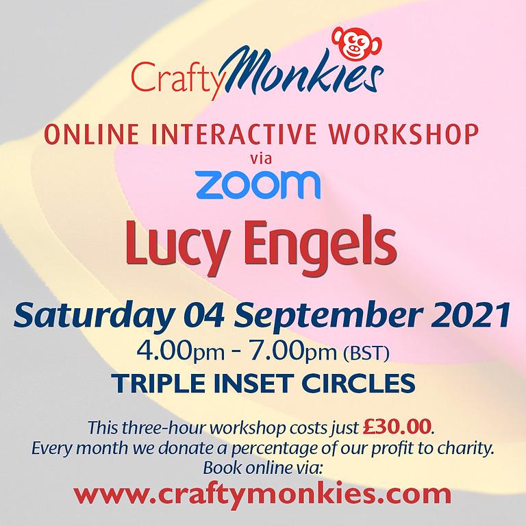 Saturday 04 September 2021: Online Workshop (Triple Inset Circles)