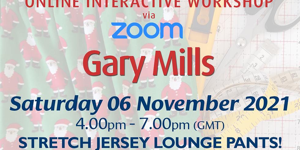 Saturday 06 November 2021: Online Workshop (Stretch Jersey Lounge Pants!)
