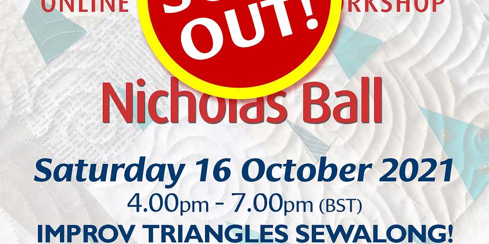 Saturday 16 October 2021: Online Workshop (Improv Triangles Sewalong!)