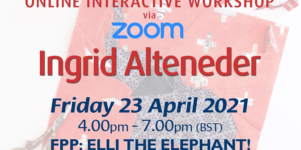 Friday 23 April 2021: Online Workshop (FPP: Elephant)