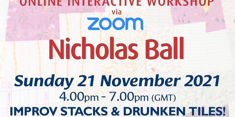Sunday 21 November 2021: Online Workshop (Improv Stacks)