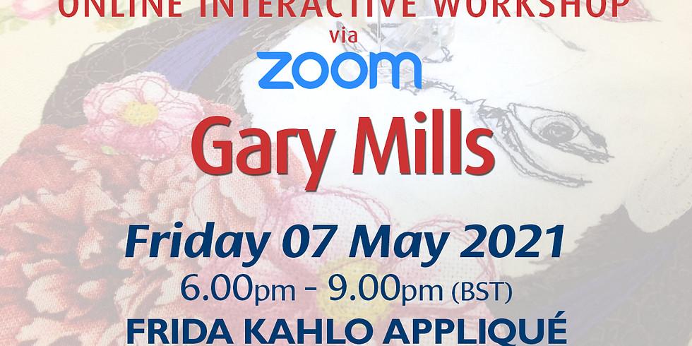 Friday 07 May 2021: Online Workshop (Frida Kahlo Appliqué)