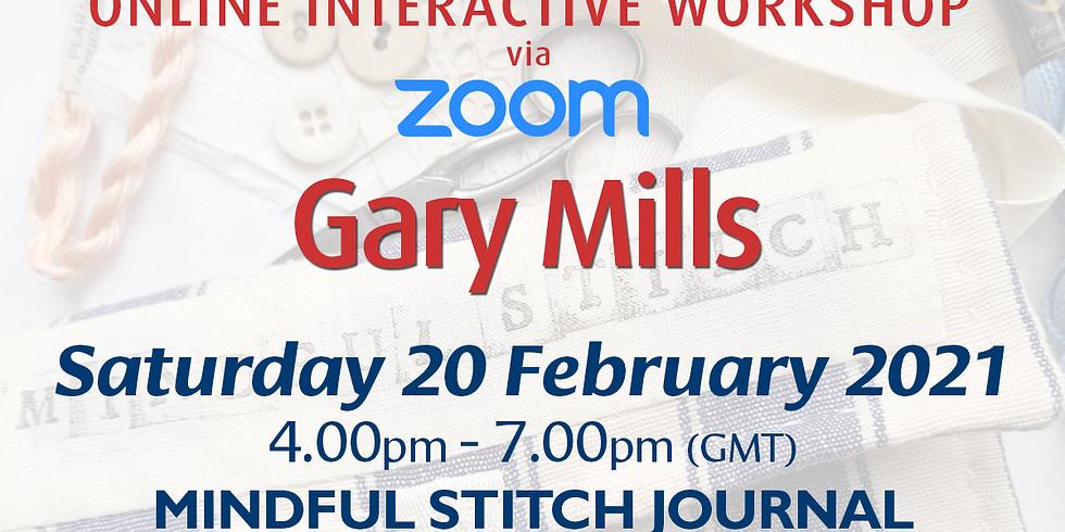 Saturday 20 February 2021: Online Workshop (Stitch Journal)