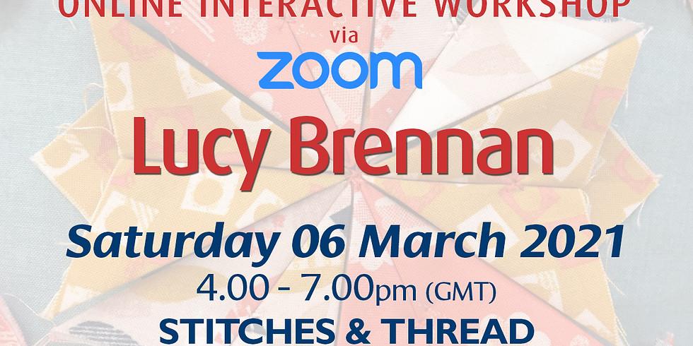 Saturday 06 March 2021: Online Workshop (Stitch & Thread)