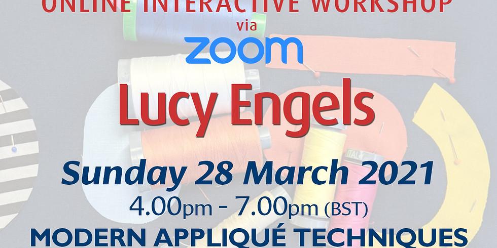 Sunday 28 March 2021: Online Workshop (Modern Appliqué Techniques)