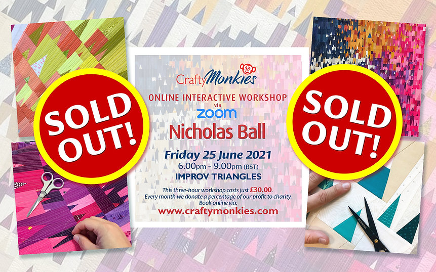 CraftyMonkies Nicholas Ball Online Interactive Workshop Improv Triangles