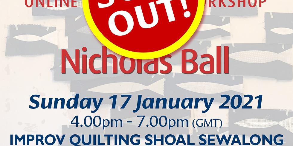 Sunday 17 January 2021: Online Workshop (Shoal Sewalong)