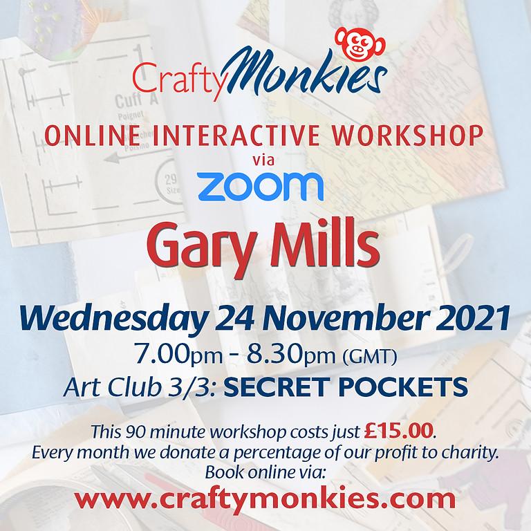 Wednesday 24 November 2021: Online Workshop (Secret Pockets)