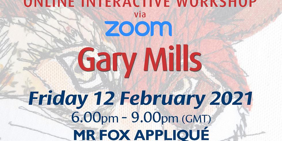 Friday 12 February 2021: Online Workshop (Mr Fox Appliqué)