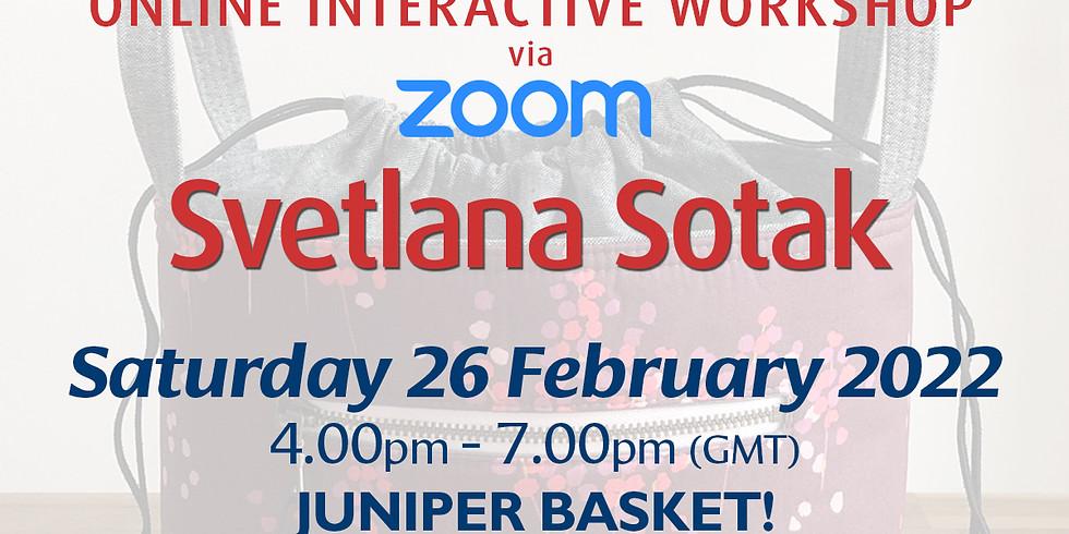 Saturday 26 February 2022: Online Workshop (Juniper Basket)