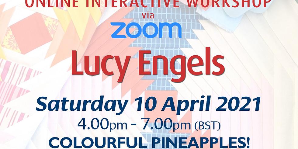 Saturday 10 April 2021: Online Workshop (Colourful Pineapples!)