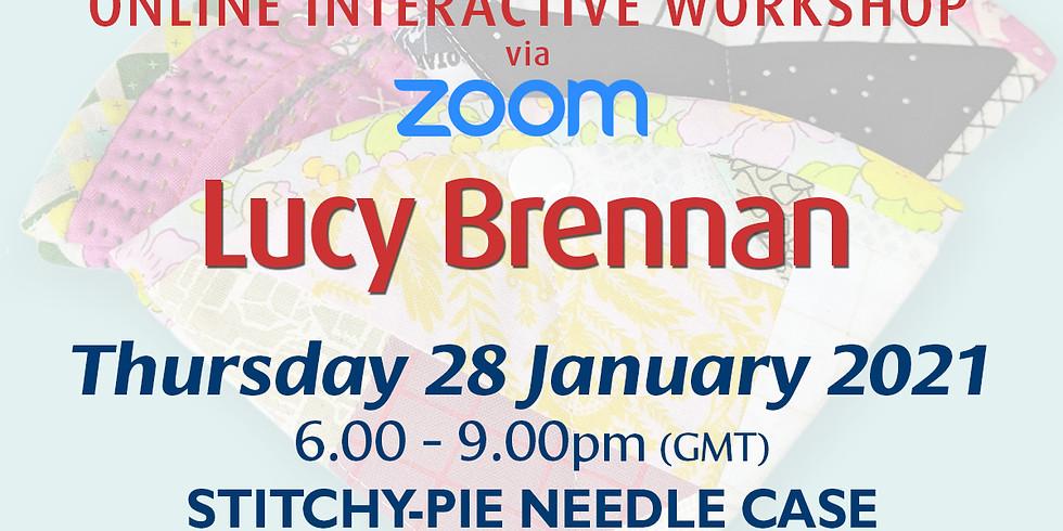 Thursday 28 January 2021: Online Workshop (Stitchy-Pie Needle Case)
