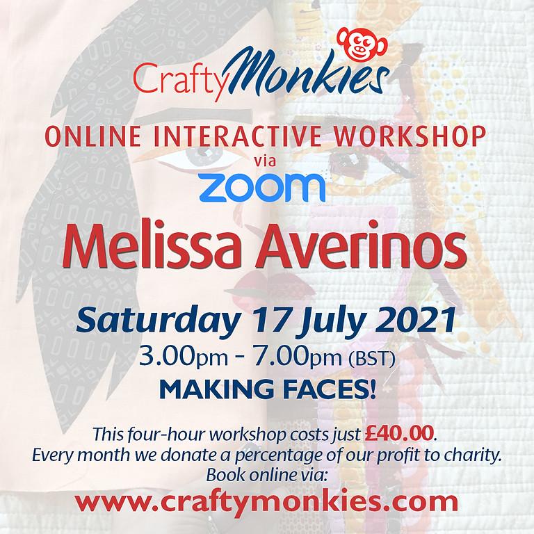 Saturday 17 July 2021: Online Workshop (Making Faces!)