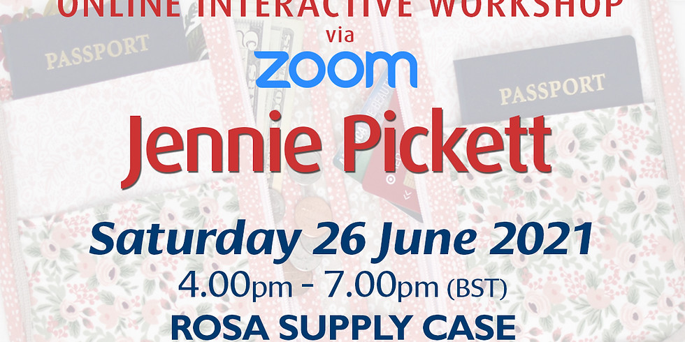 Saturday 26 June 2021: Online Workshop (Rosa Supply Case)