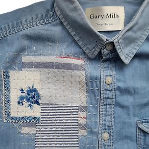 CraftyMonkies Gary Mills Online Interactive Craft Workshop Visible Mending