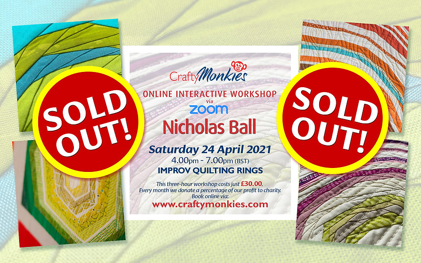 CraftyMonkies Nicholas Ball Online Interactive Workshop Improv Rings Technique