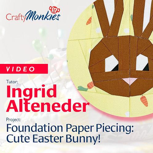 Video of Workshop: Ingrid Alteneder - Cute Easter Bunny!