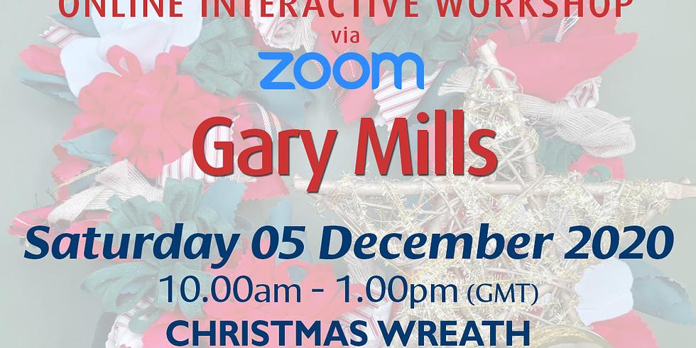 Saturday 05 December 2020: Online Workshop (Christmas Wreath)